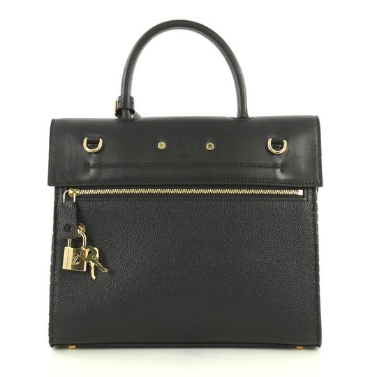 Louis Vuitton City Steamer Leather Satchel in black Image 3
