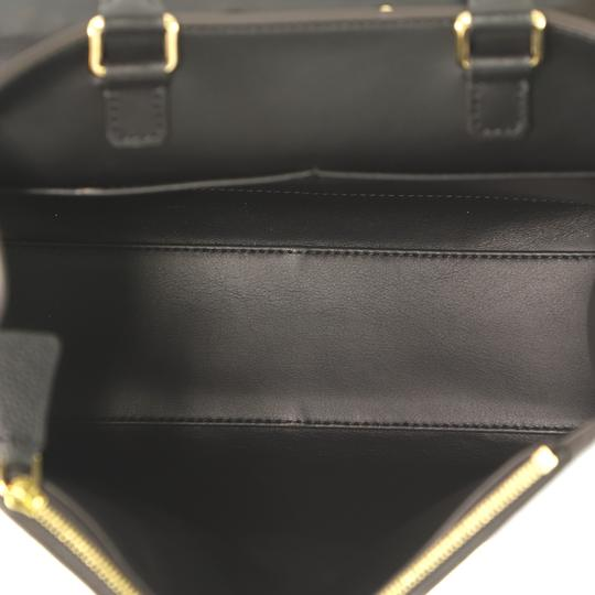 Louis Vuitton City Steamer Leather Satchel in black Image 5