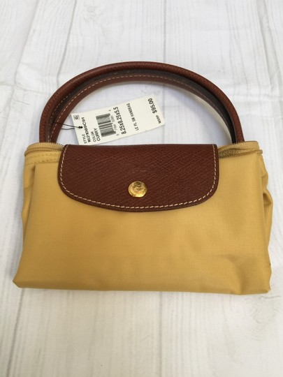 Longchamp Tote in Curry Image 1