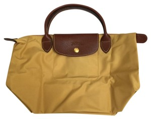 Longchamp Tote in Curry