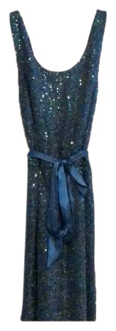Express Teal Cocktail Short Night Out Dress Size 4 (S) Express Teal Cocktail Short Night Out Dress Size 4 (S) Image 1