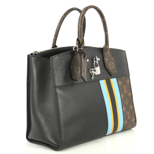 Louis Vuitton City Steamer Monogram Canvas Tote in brown Image 1
