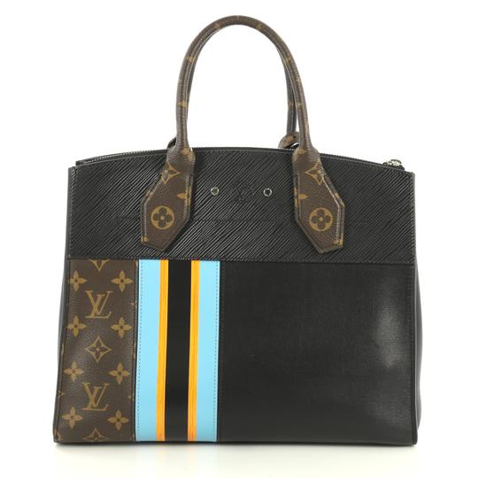 Louis Vuitton City Steamer Monogram Canvas Tote in brown Image 2