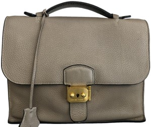Hermès France Depeche 27 Clemence Vintage Sac Classic Satchel in Beige/ Taupe