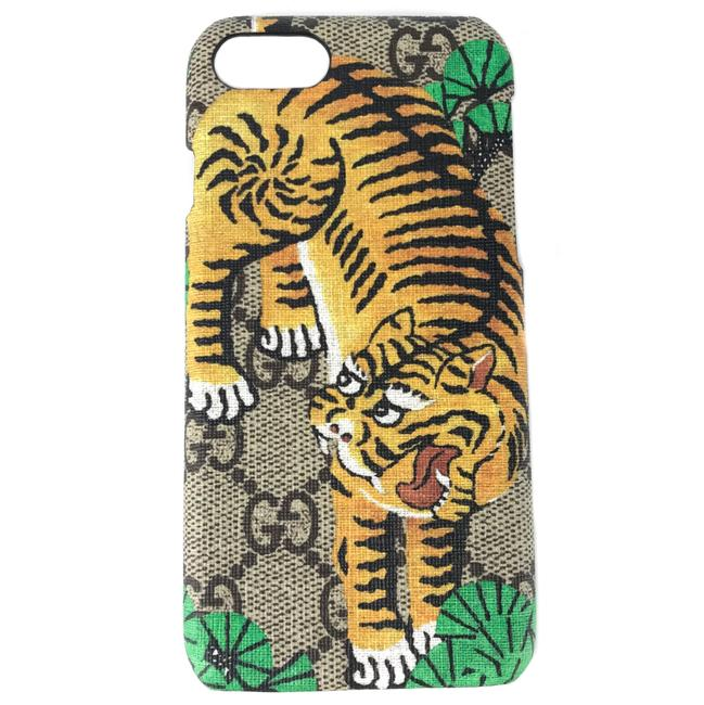 Gucci Multicolor New Gg Supreme Bengal Iphone 6 Phone Cover Tech Accessory Gucci Multicolor New Gg Supreme Bengal Iphone 6 Phone Cover Tech Accessory Image 1