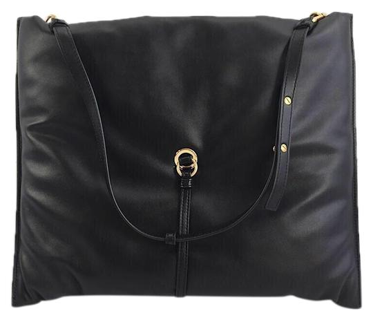 Preload https://img-static.tradesy.com/item/25834455/stella-mccartney-bubble-large-style-a88t-black-faux-leather-hobo-bag-0-1-540-540.jpg