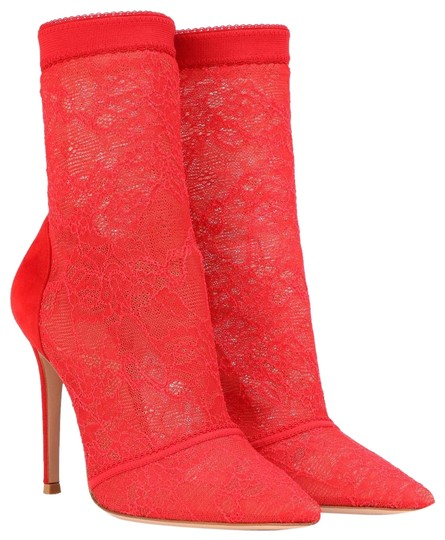 Preload https://img-static.tradesy.com/item/25834475/gianvito-rossi-red-stretch-lace-bootsbooties-size-eu-38-approx-us-8-regular-m-b-0-1-540-540.jpg