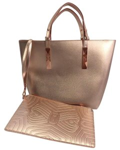 Ted Baker Tote in Rose Gold
