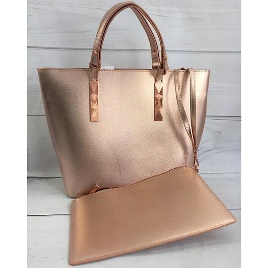 Ted Baker Tote in Rose Gold Image 1