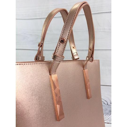 Ted Baker Tote in Rose Gold Image 4