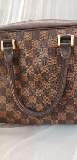 Louis Vuitton Brera Lv Ebene Lv Azur Ebene Brera Shoulder Bag Image 8