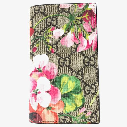 Gucci NEW GUCCI 476798 GG Blooms iPhone 7 Wallet Case Image 1