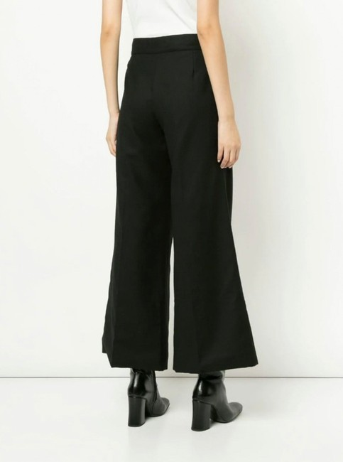 Chanel Runway Coco Cc Wide Leg Pants BLACK Image 1