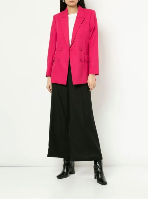 Chanel Runway Coco Cc Wide Leg Pants BLACK Image 2