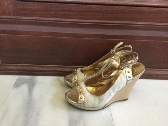 Just Cavalli White gold Wedges Image 1