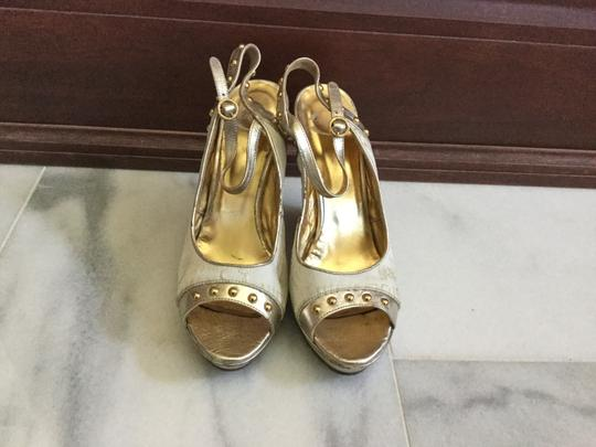 Just Cavalli White gold Wedges Image 3