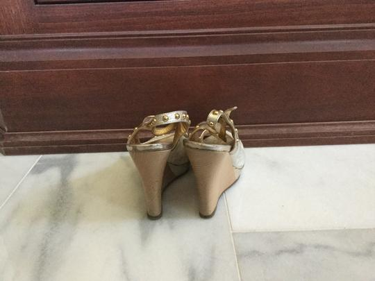 Just Cavalli White gold Wedges Image 4