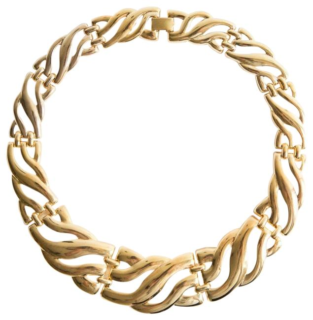 Gold 18 Kt Plated Chunky Collar Necklace Gold 18 Kt Plated Chunky Collar Necklace Image 1