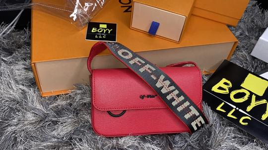 Off-White Cross Body Bag Image 2