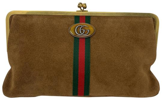 Preload https://img-static.tradesy.com/item/25834585/gucci-ophidia-tan-suede-leather-clutch-0-1-540-540.jpg