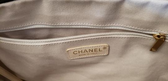 Chanel Cc Logo Grand Shopping Tote Blake Lively Gossip Girl Puzzle Piece Shoulder Bag Image 5