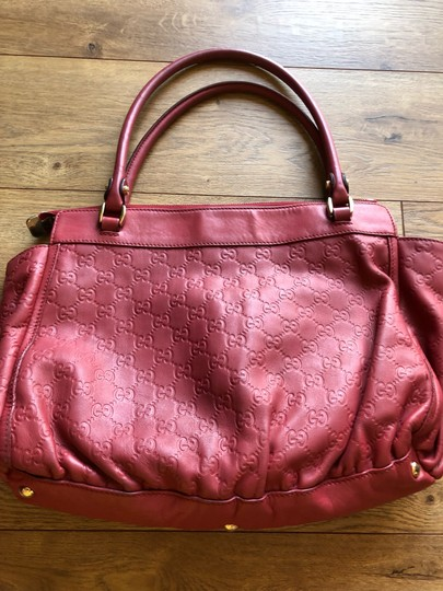 Gucci Tote in red Image 6