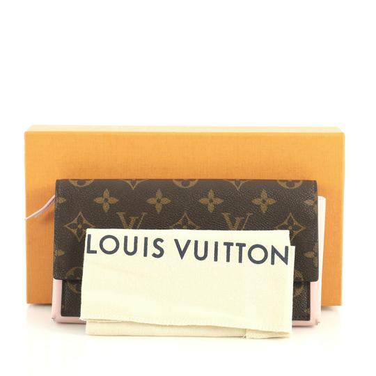Louis Vuitton Flore Wallet Monogram Canvas Wristlet in brown Image 1
