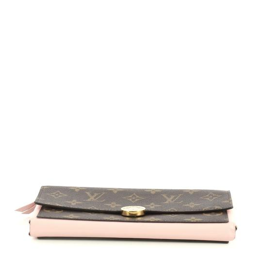 Louis Vuitton Flore Wallet Monogram Canvas Wristlet in brown Image 4