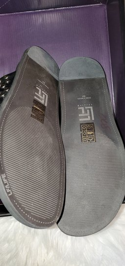 Lust For Life Black and silver Sandals Image 3