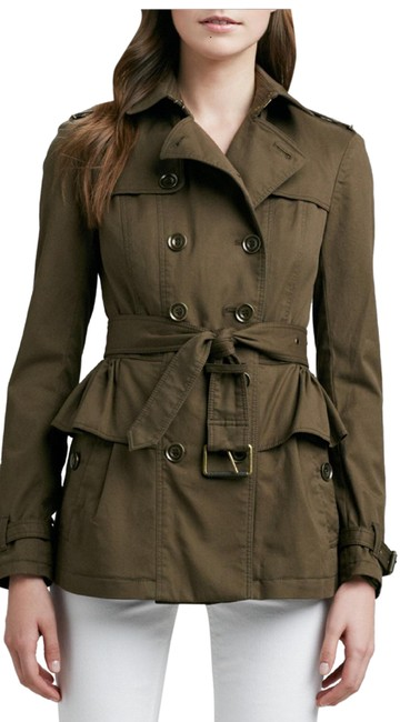 Preload https://img-static.tradesy.com/item/25834672/burberry-military-gren-brit-double-breast-coat-size-2-xs-0-6-650-650.jpg