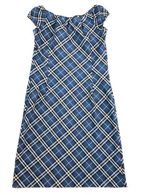 Burberry Blue Label short dress BLUE Nova Check Plaid Japan on Tradesy Image 1