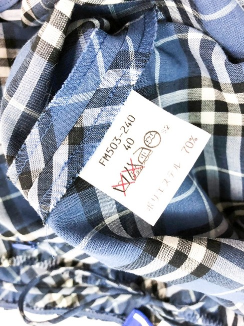 Burberry Blue Label short dress BLUE Nova Check Plaid Japan on Tradesy Image 3