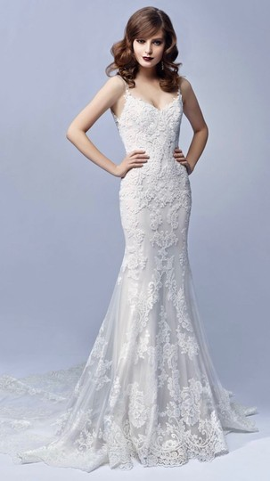 Preload https://img-static.tradesy.com/item/25834688/enzoani-ivory-embroidered-lace-and-tulle-journey-vintage-wedding-dress-size-6-s-0-0-540-540.jpg