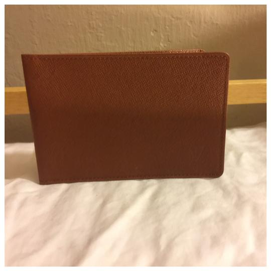 Louis Vuitton Authentic Louis Vuitton Unisex Brown Card Holder Wallet Image 0