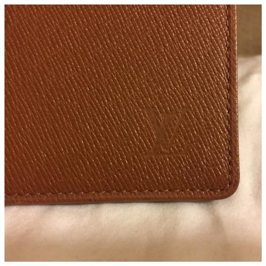 Louis Vuitton Authentic Louis Vuitton Unisex Brown Card Holder Wallet Image 2