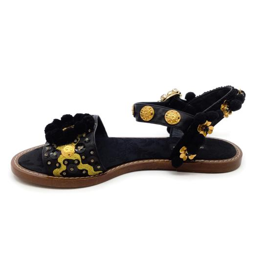 Dolce&Gabbana Black / Gold Sandals Image 2