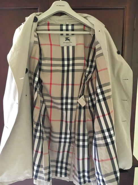 Burberry England Trench Coat Image 3