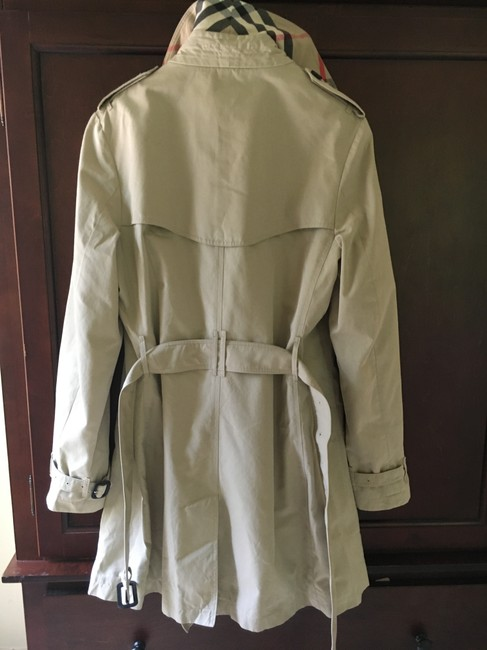Burberry England Trench Coat Image 6