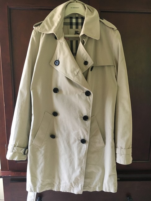 Burberry England Trench Coat Image 9