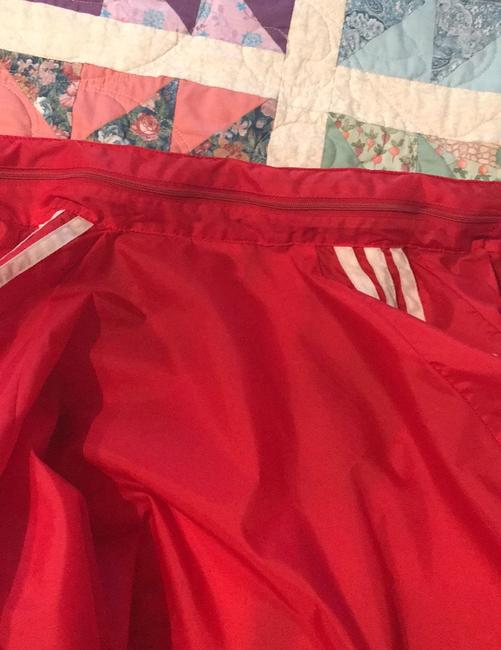 adidas Originals by Alexander Wang Red/White Leather Jacket Image 1
