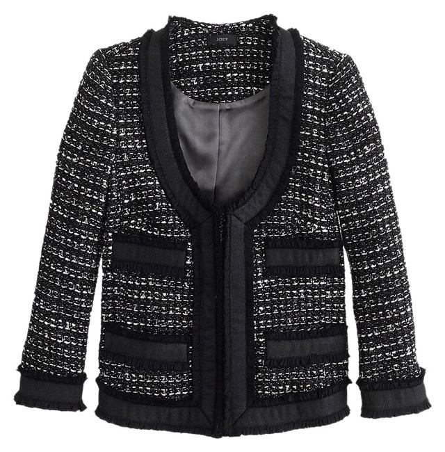 Item - Black Nwt. Collection Tweed Jacket Size 10 (M)