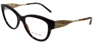 Burberry BE2211-3001-53 Square Womens Black Frame Clear Lens Genuine Eyeglasses