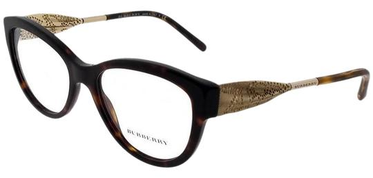 Burberry BE2211-3001-53 Square Womens Black Frame Clear Lens Genuine Eyeglasses Image 0