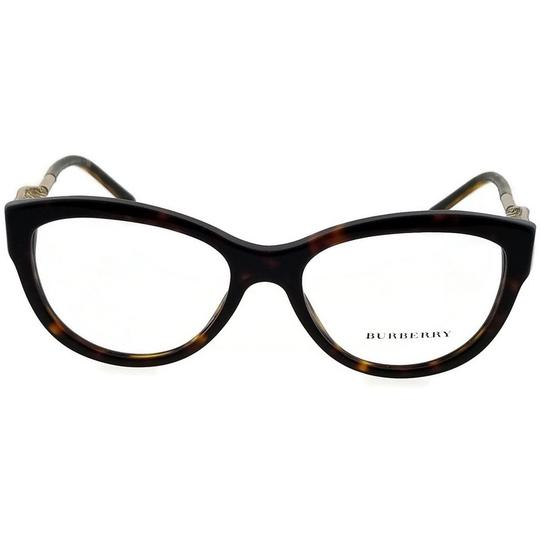 Burberry BE2211-3001-53 Square Womens Black Frame Clear Lens Genuine Eyeglasses Image 1