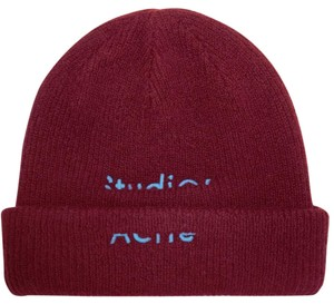Acne Studios Kreed Sporty embroidered wool-blend beanie