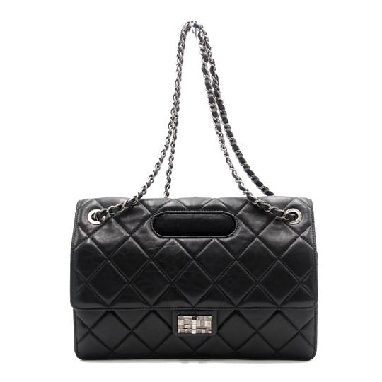 Preload https://img-static.tradesy.com/item/25835311/chanel-with-top-handle-classic-flap-washed-jumbo-take-away-double-black-lambskin-leather-shoulder-ba-0-0-540-540.jpg