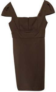Taupe Maxi Dress by Max and Cleo