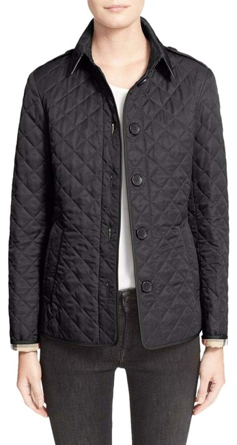 Item - Black Quilted Women's Jacket Size 0 (XS)