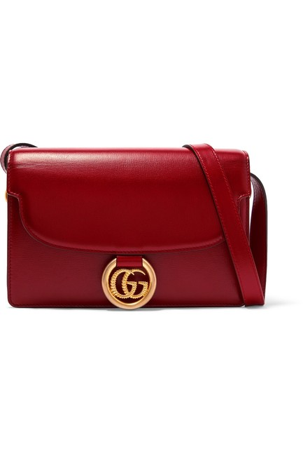 Gucci Gg Ring Small Leather Shoulder Bag Gucci Gg Ring Small Leather Shoulder Bag Image 1