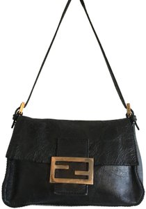 Fendi Mini Shoulder Mama Forver Buckle Wristlet Baguette